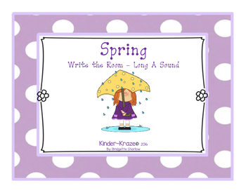 Spring Write The Room- Long A
