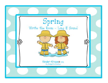 Spring Write The Room- Long E