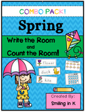 Spring Write The Room and Count the Room COMBO
