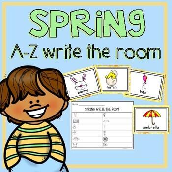 Spring Write the Room A-Z