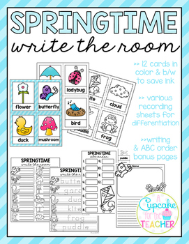 Spring Write the Room (Bonus Pages)