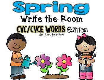 Spring Write the Room - CVC/CVCE Edition