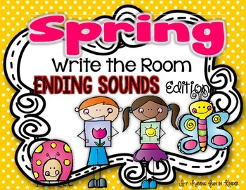 Spring Write the Room - Ending Sounds Edition