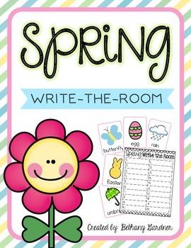 Spring Write-the-Room Freebie
