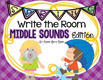 Spring Write the Room - Middle Sounds Edition