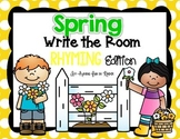 Spring Write the Room - Rhyming Edition