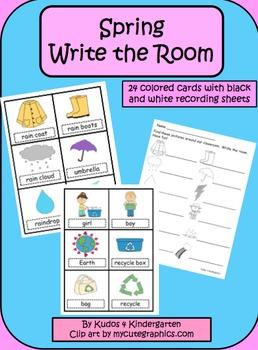 Spring Write the Room Set