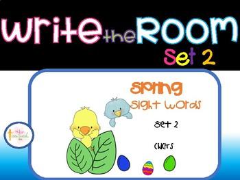 Spring Write the Room Set 2- Chicks