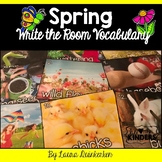 Spring Write the Room Vocabulary