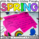 Spring - Write the Room & Writing Activities