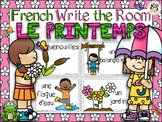 French Spring Write the Room-Printemps