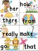 Spring Write the Room with Sight Words