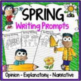 Spring Writing Prompts {Narrative Writing, Informative & Opinion Writing}
