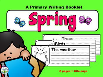 Spring Writing Center Activity