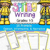 Spring Writing Prompts (Opinion, Description, Narrative, I