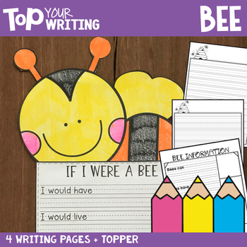 Spring / Farm Writing Activities - Easy Prep Paper and Toppers