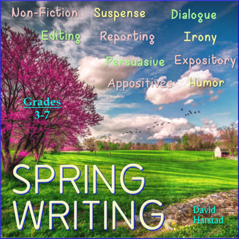 Spring Writing: 35 Printable Prompts (Grades 3-7)