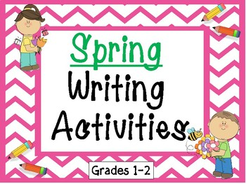 Spring Writing Activities