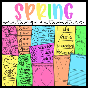 Spring Writing Activities/Centers