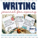 Spring Writing Activities 4th & 5th grade, Expository, Narrative & more EDITABLE