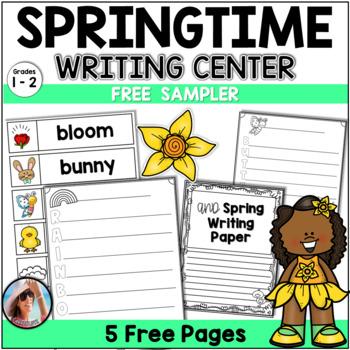 Spring Writing Activities | Spring Writing Center Free