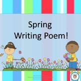 Spring Writing Poem