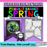 Spring Writing Prompts Banner