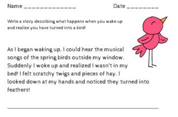 Spring Writing Bundle Pack