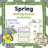 Spring Writing - Writing Center Activities