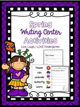 Spring Writing Center Actvities