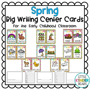 Spring Writing Center Banner