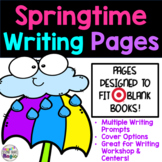 Spring Writing Covers, Pages, and Prompts! Fits Target Dol