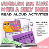 Spring Writing Craft Activity - Norman The Slug with the Silly Shell