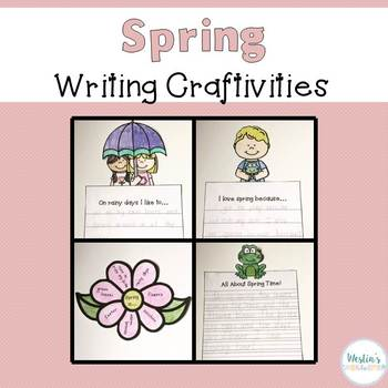 Spring Writing Craftivites
