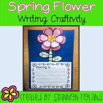 Spring Writing Craftivity
