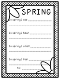 Spring Writing FREEBIE