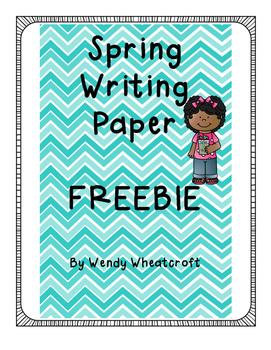 Spring Writing Freebie