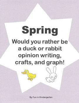 Spring Writing, Graph, and Craftivities