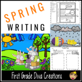 Spring Writing~Picture Writing Prompts & Inference Activities