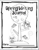 FREEBIE in PREVIEW-  Spring Writing Journal Covers:  Color