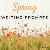 Spring Writing Journal Prompts