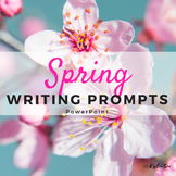 Spring Writing Journal Prompts PowerPoint