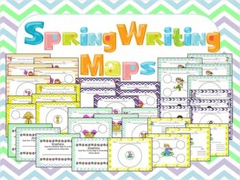 Spring Writing Maps