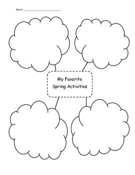 Spring Writing Organizers