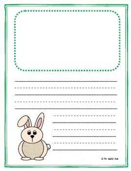 Writing Paper Templates - Spring Theme