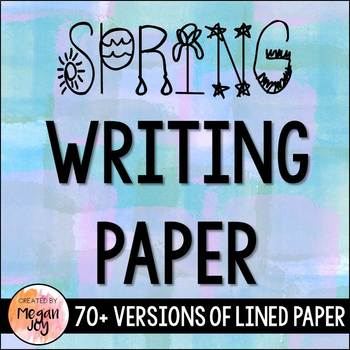 Spring Stationary/Writing Paper