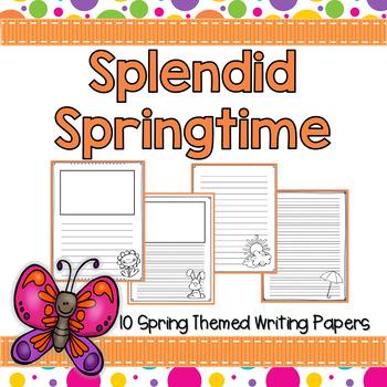Spring Writing Paper Bundle