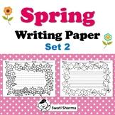 Spring, Writing Paper, Set 2