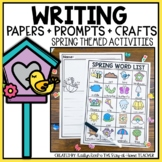 Spring Writing Paper and Prompts