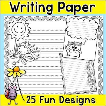 Spring and Summer Writing Paper
